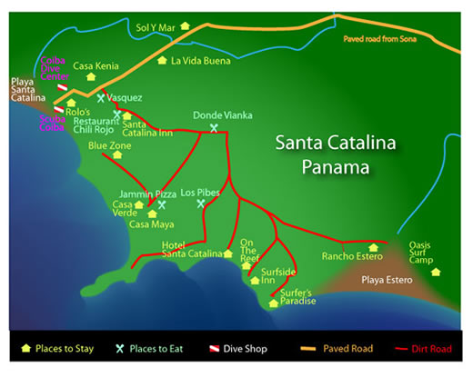 catalina local map